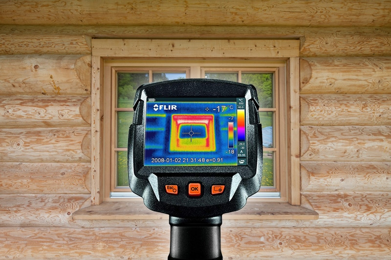 Thermografie Blockhaus