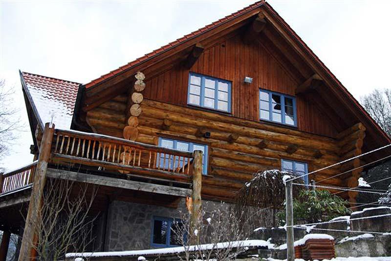 Das Haus vor dem Neuanstrich